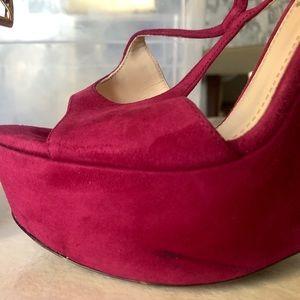 Suede Prada Shoes Sz 9